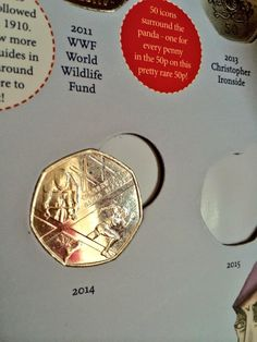 Louise Taylor ‏@sugaredeggs  Eep, found a 2014 issue 50p for my @RoyalMintUK Coin Hunt! (It's the Commonwealth Games) #nerdtweet