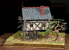Fantasy House by Jay Adan, via Flickr