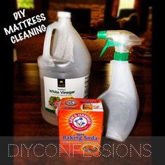 DIY Mattress Cleaning
