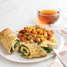 Mexican Rolled Omelet