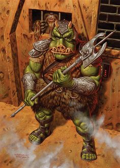 Gamorrean Guard by ~jasonedmiston on deviantART
