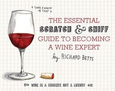 Scratch and sniff wine book released