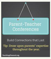 Beyond Parent-Teacher Conferences: Creating Connections that Last
