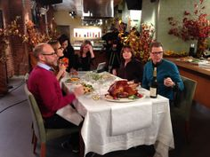 The chefs are sitting down to chat about #ThanksgivingLive and answering more of your LEFTOVER questions. Click through.