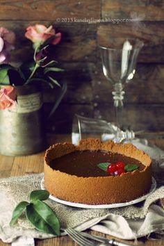 Tarta de chocolate y leche condensada