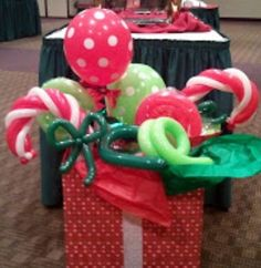 Balloon Decorations on Pinterest