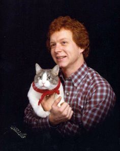 Nothing comes between a man and his cat. (submitted by Rhonda)