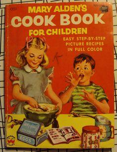 1955 Children's cookbook  My first cookbook which I still have
