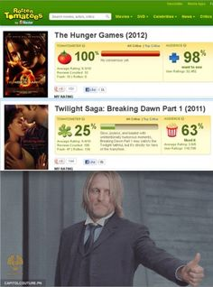 Haymitch approves! :D by the way, 5 days until The Hunger Games begin!
