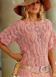 Hairpin crochet Top