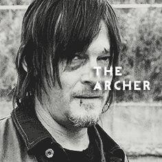 TWD // Daryl Dixon, the Archer