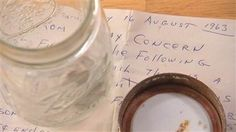 50-year-old message found in a jar on Jersey Shore - U.S. News