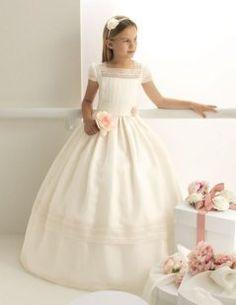 Vestidos de comunión de Rosa Clará | Preparar tu boda es facilisimo.com