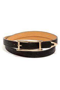 Arrow There Black Belt at LuLus.com! #lulus #holidaywear