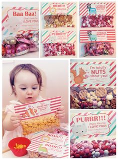 Cute DIY Valentine Ideas! Valentine Treat Bag Tags & 15% OFF Code to Printables Shop! #valentine #diy #printables