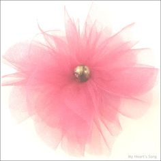 My Heart's Song: Tulle Pom Poms