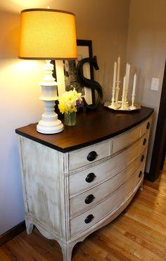 Dresser Redo-My Passion For Decor: The Big Back Breaker Project!