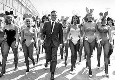 Hugh Hefner vintage Playboy