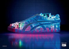 Onitsuka Tiger, Electric Shoe Campaign Centerpiece, 2008