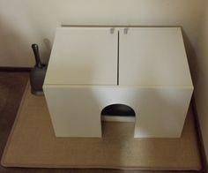 Kitty Litter case cover made of Fullen Sink Base Cabinet - IKEA Hackers