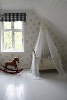 baby room simple farmhouse <3
