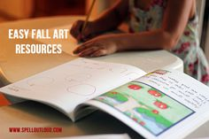Easy Art Resources for Fall by @maureenspell