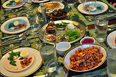 How to Host a Christian Seder Meal ~ exactly what I was looking for, for my S.S. class.  :)  Yay!