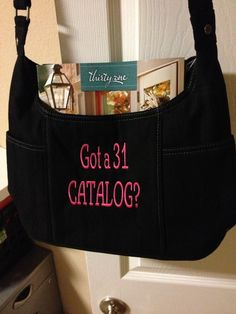 Catalog bag!  Free to be carry-all.  new for Fall 2013
