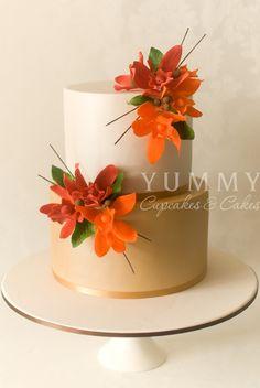 pretty Fall cake