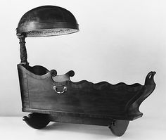 Cradle  Date: 1815–20 Geography: Mid-Atlantic, New York City, New York, United States Culture: American Medium: Mahogany, rosewood, brass, white pine