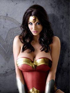 Alice Goodwin as Wonderwoman