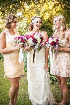 vintage bridesmaid looks