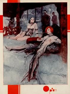 Henry Sebastian, 1932, 'Opium'