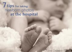 7 Tips for taking newborn photos at the hospital