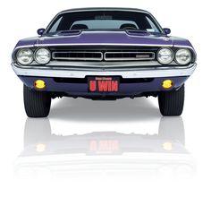 1971 Dodge Challenger Hemi front shot.