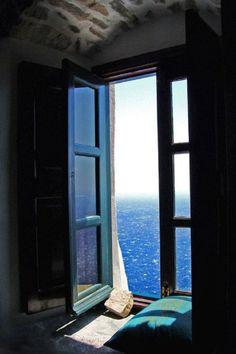 Sea View, Amorgos Island, Greece