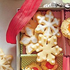 Sugar Cookie Cutouts | We think 1/8 inch is the perfect thickness for a crisp, buttery cookie, but this dough can be rolled to 1/4 inch thick if you prefer a soft texture. | SouthernLiving.com