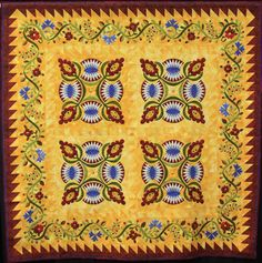 Tequila Sunrise by Jean Lohmar, 2013 NQA quilt show