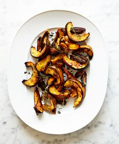 Squash with Dates and Thyme Recipe - Bon Appétit