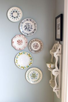 Plate Display. From the Living With Kids Home Tour featuring Lesli Gresholdt.