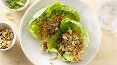 These lettuce wraps have a pleasant level of heat without being too hot for the entire family to enjoy.