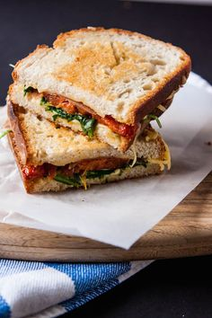 Grown Up BLT Grilled Cheese | TheCornerKitchenBlog.com