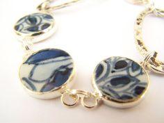 I hope it's not REALLY ming pottery.  But beautiful.  #bracelet #jewelry $24
