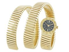 Bvlgari Snake Watch in 18K - Beladora Antique and Estate Jewelry