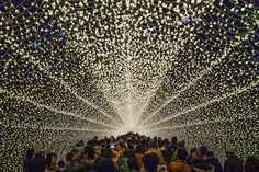 The Incredible Winter Light Festival in Japan
