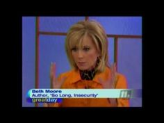 So Long, Insecurity- Beth Moore  So many women would benefit from this book!