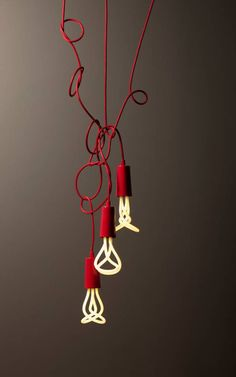 Modern Light Bulbs by Plumen.
