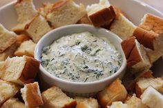 Recipe – Garlic Spinach Dip  from fresh spinach