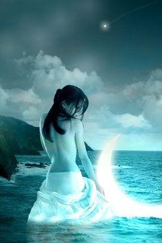 Nyx - Goddess of Night by ~DamiensConsort