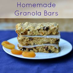 Homemade Granola Bars from Real Food Real Deals